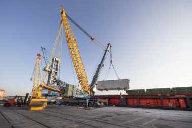 Sarens, Sarens UK, SMPT, Crane, Kamag, TII Group