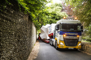 WH Transport, HIAB, Goodwood Festival of speed, Andrew Weston, The Heavies 2018, DAF Trucks