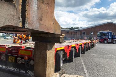 Bowlers Heavy Haulage, TW Bowler, Scheuerle, Nooteboom, Modular Transport, Axles Lines