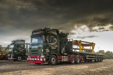 S Lyon & Son, Volvo Trucks UK, Scania GB, heavy haulage