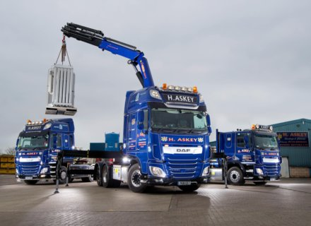 DAF XF Gives Extra Lift to Askey Fleet
