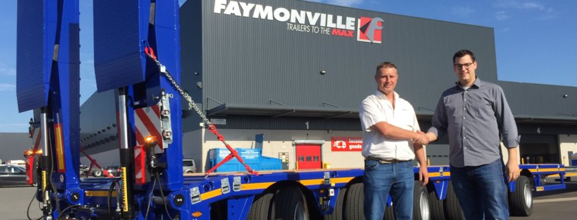 Faymonville MultiMAX for P&L Machine Moving