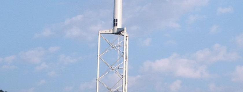 ALE Self Erecting Wind Turbine Tower