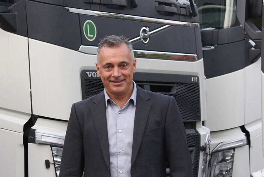 Robert Grozdanovski Appointed at Volvo Trucks