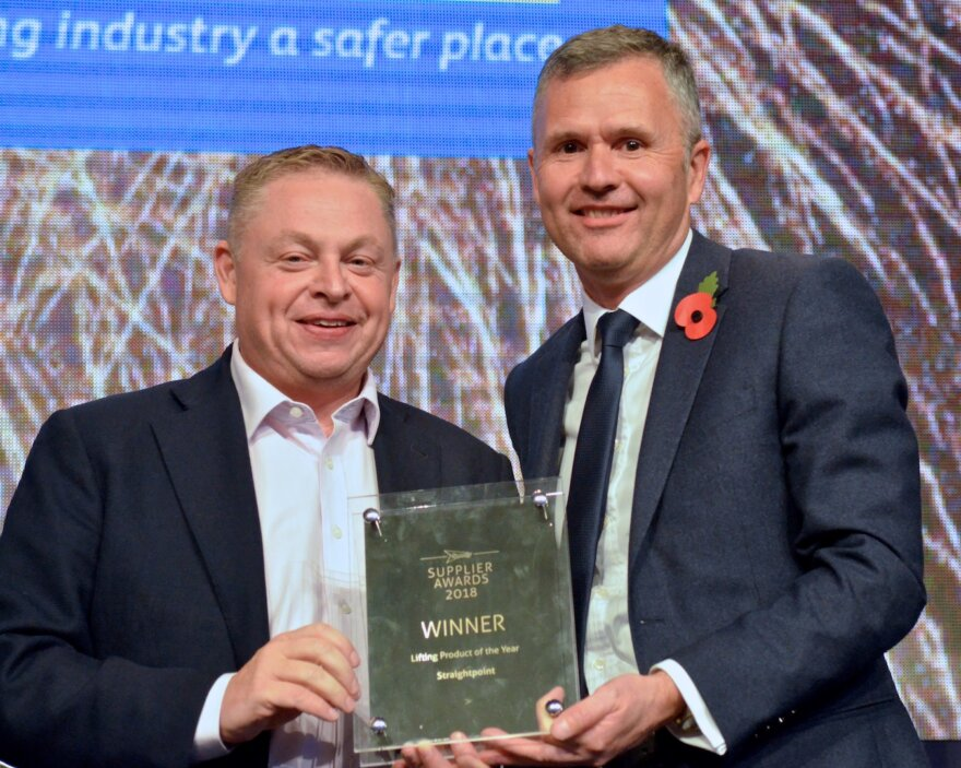 Straightpoint Wins Product Award at Speedy Expo 2018