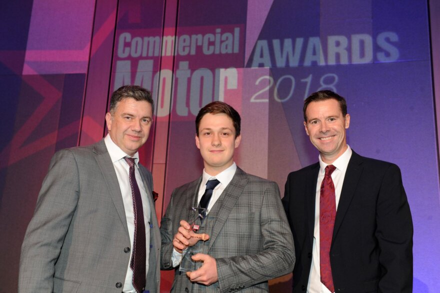 Top Honours for DAF Dealers at Commercial Motor Awards