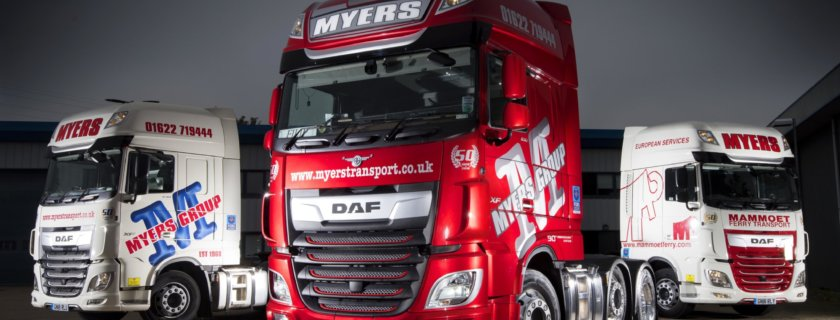 Myers Celebrates 50 Years with Three New DAFs