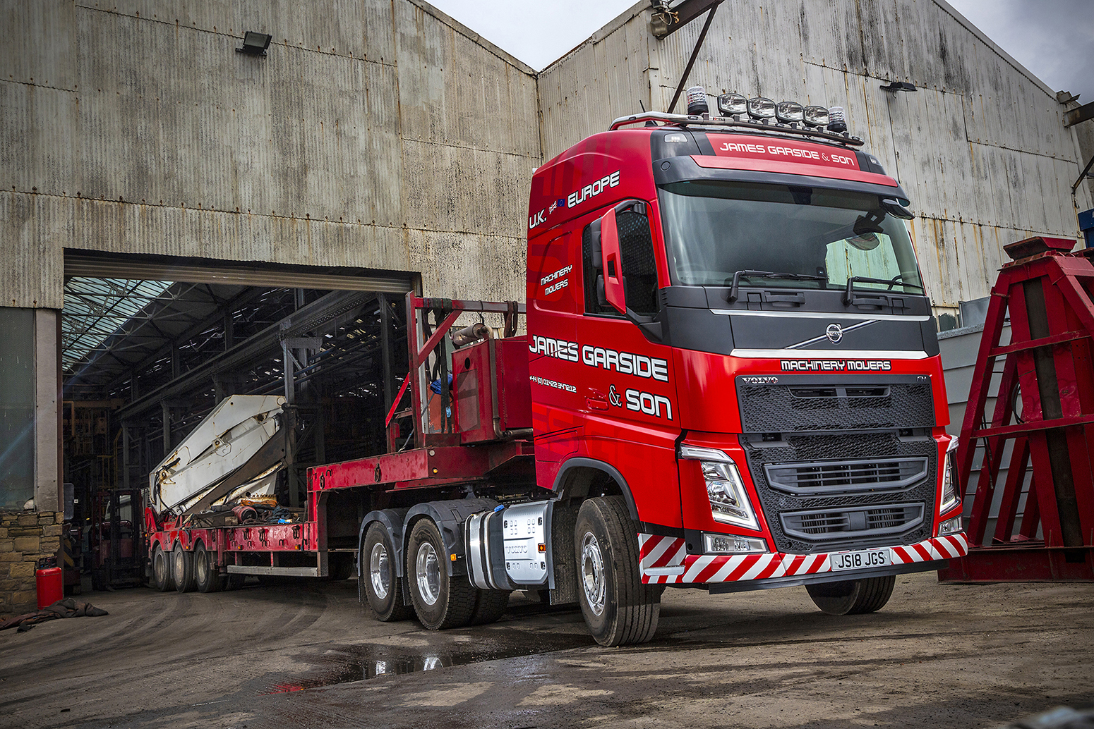 Volvo Trucks Power James Garside & Son
