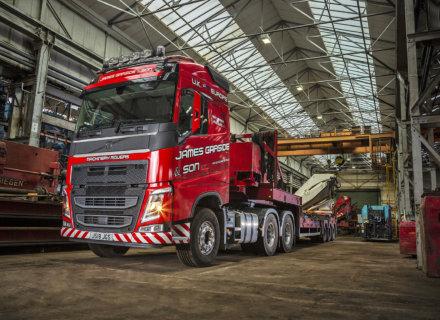 New Volvos for James Garside & Son