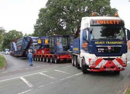 Collett Heavy Transport Deliver Willenhall Transformer