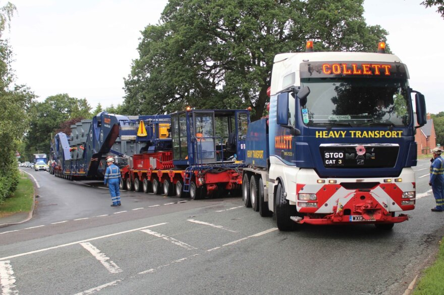 Collett Heavy Transport Deliver Willenhall Transformer
