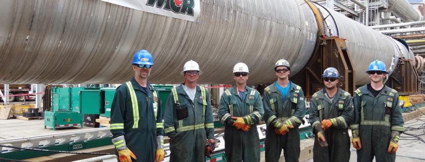 The Myshk Crane & Rigging Team