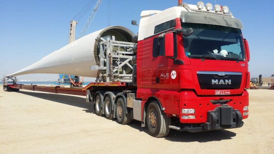 ALE Begin Operations on First Wind Project in the Gulf Region