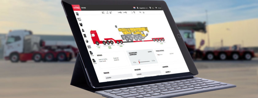 Nooteboom Introduces NOVAB 3.0 Axle Load Calculation
