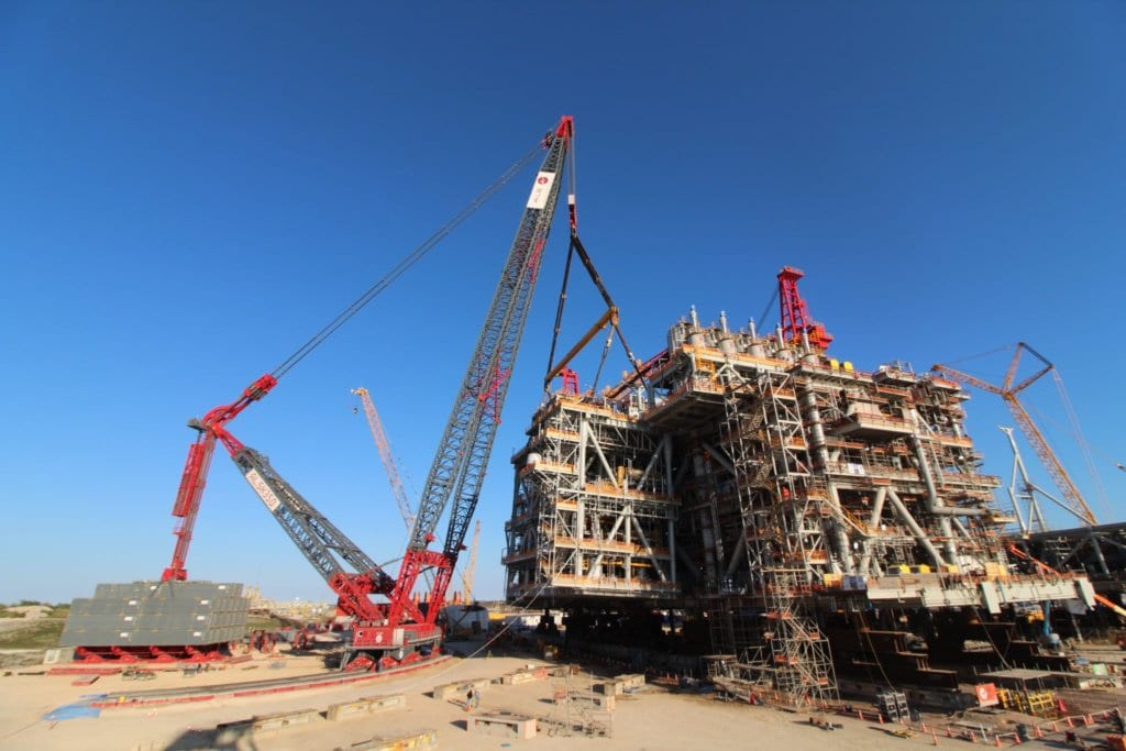 ALE perform North America's biggest land lift with AL.SK350