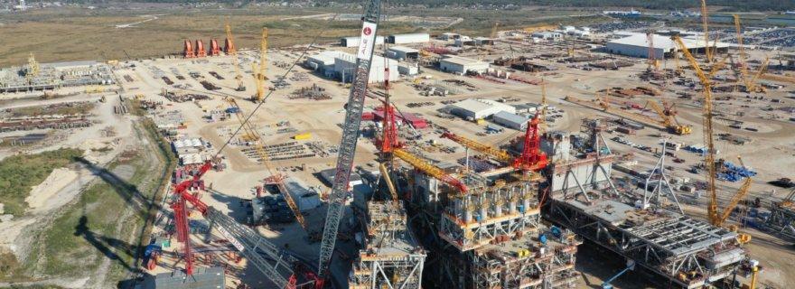 ALE Lifting MRU Module in Texas, USA