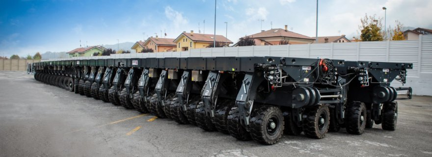 Muhibbah Engineering acquire fourteen self-propelled MSPE 40t modules from Cometto