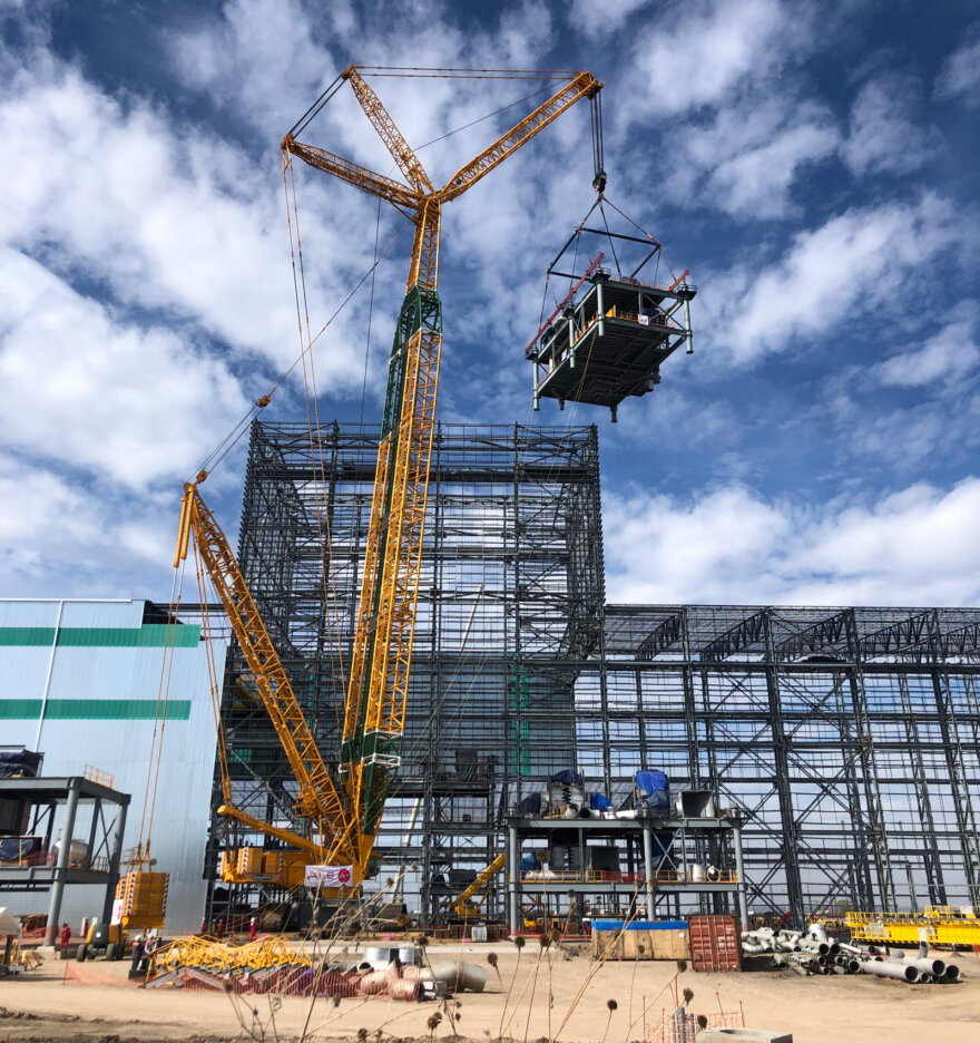 ALE crane methodology saves significant costs on steel mill build