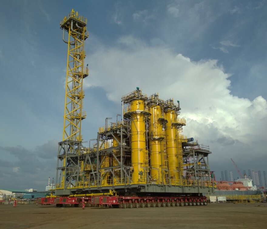 ALE's FPSO Project in Singapore.