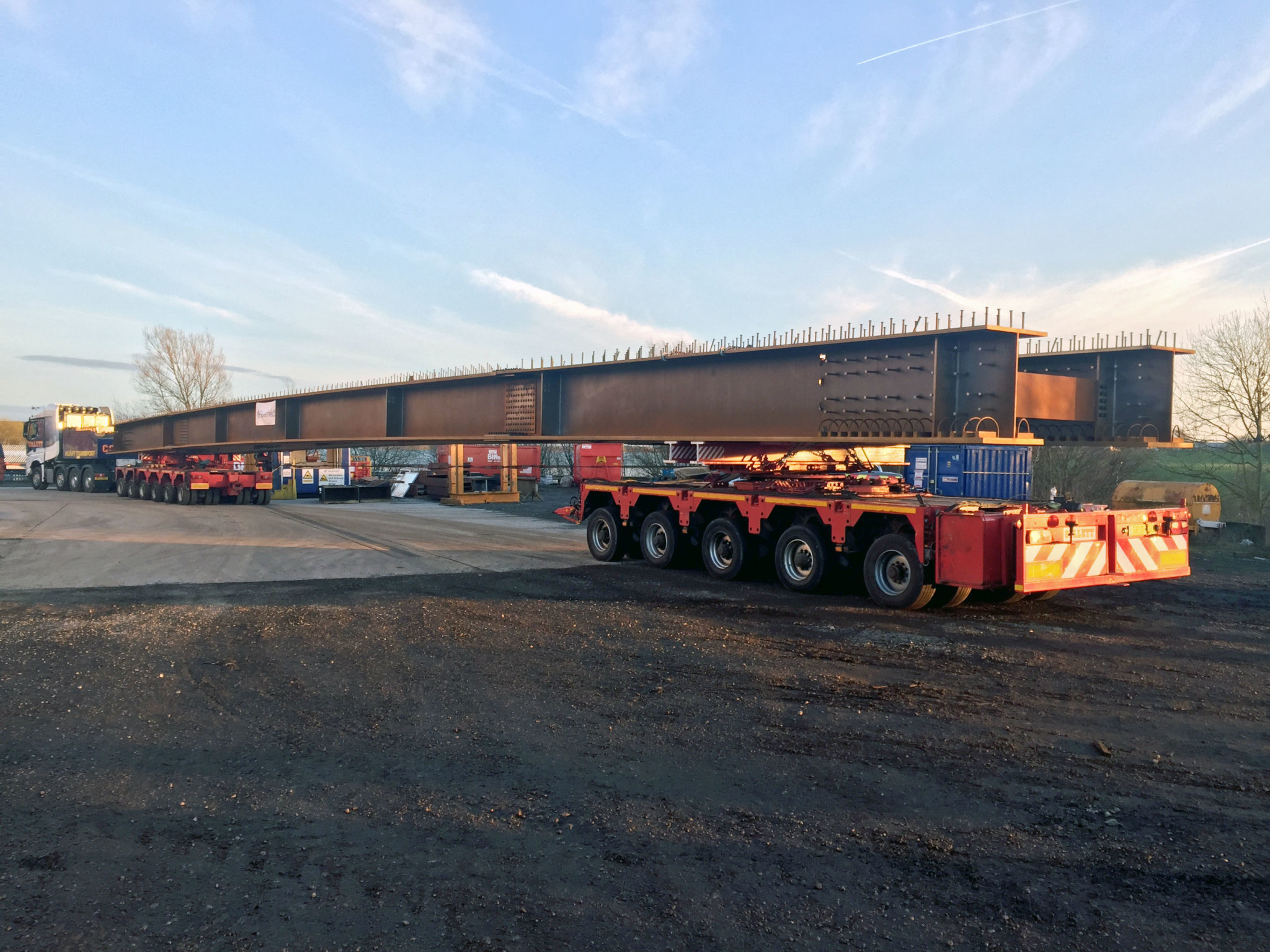 M20 Girders Delivered by Collett & Sons