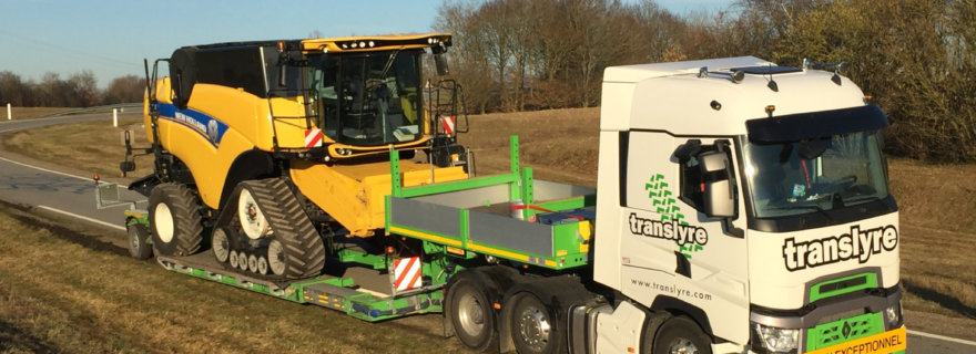 Faymonville Hydraulic MegaMAX New for Agriculture
