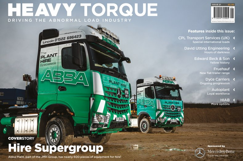 Welcome to Issue 21 of the heavy haulage title, HeavyTorque