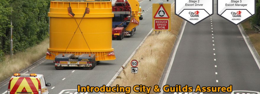 The Heavy Transport Association (HTA), the only specialist trade association for the heavy and abnormal load industry, officially launch the two City & Guilds Assured Abnormal Load Escort Training Programmes and HTA certifications.