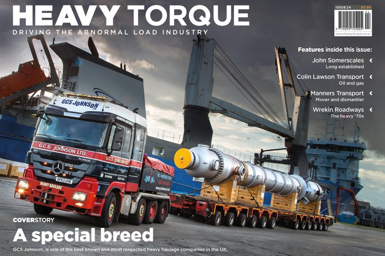 HeavyTorque Issue Twenty Four: Front Cover
