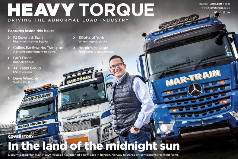 HeavyTorque: April 2021 Front Cover